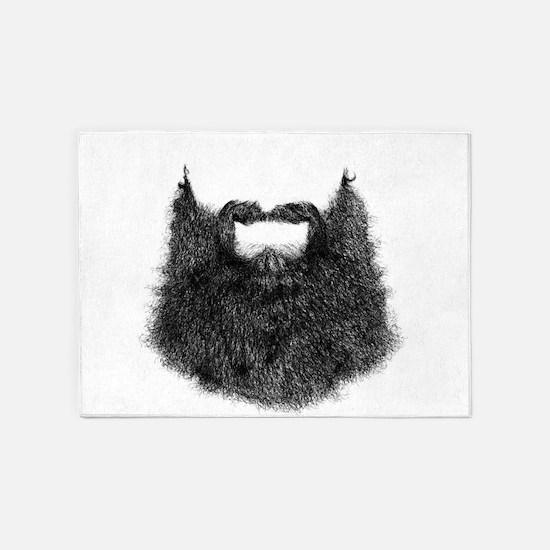 Big Beard 5'x7'Area Rug