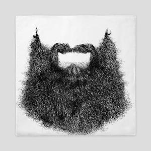 Big Beard Queen Duvet