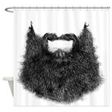 Beard Shower Curtains