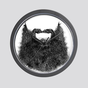 Big Beard Wall Clock
