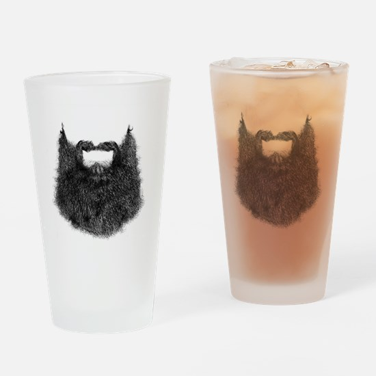Big Beard Drinking Glass