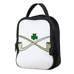 Shamrock and Pipes Neoprene Lunch Bag