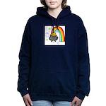 Rainbow with Crock of Gold Women's Hooded Sweatshi