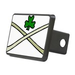 Shamrock and Pipes Hitch Cover