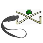 Shamrock and Pipes Luggage Tag