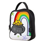 Rainbow with Crock of Gold Neoprene Lunch Bag