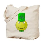 Smiley with Shamrock Tote Bag