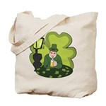 St Patricks Day Man with Beer Tote Bag