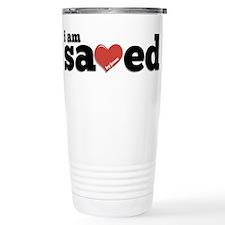 I am Saved Stainless Steel Travel Mug
