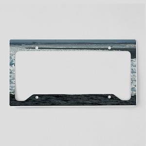 Abashiri drift ice License Plate Holder