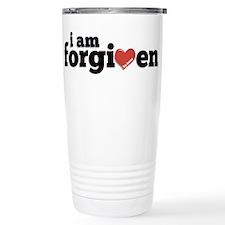 I am Forgiven Stainless Steel Travel Mug