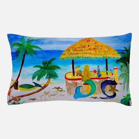 Mermaid Beach Bar Pillow Case