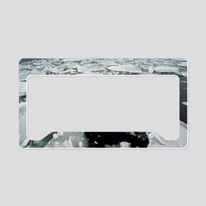 sea ice License Plate Holder