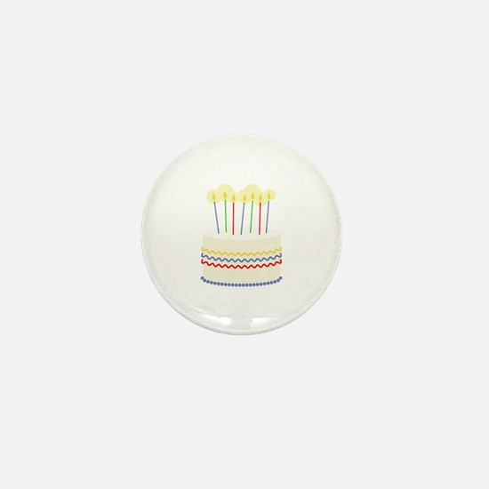 Birthday Cake Mini Button