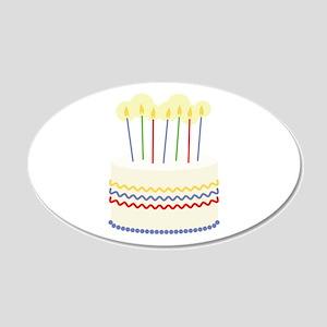 Birthday Cake Wall Decal