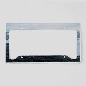 drifting ice License Plate Holder