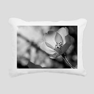 Cherry Blossom Flower Rectangular Canvas Pillow