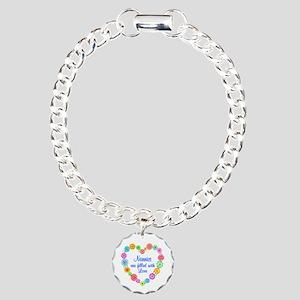 Nanny Love Charm Bracelet, One Charm