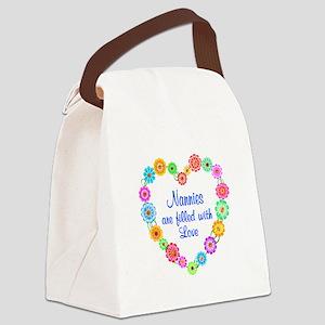 Nanny Love Canvas Lunch Bag