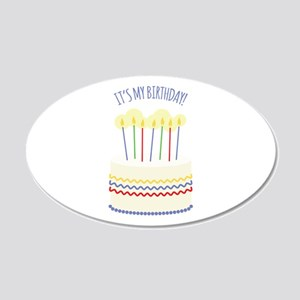 Its My Birthday Wall Decal