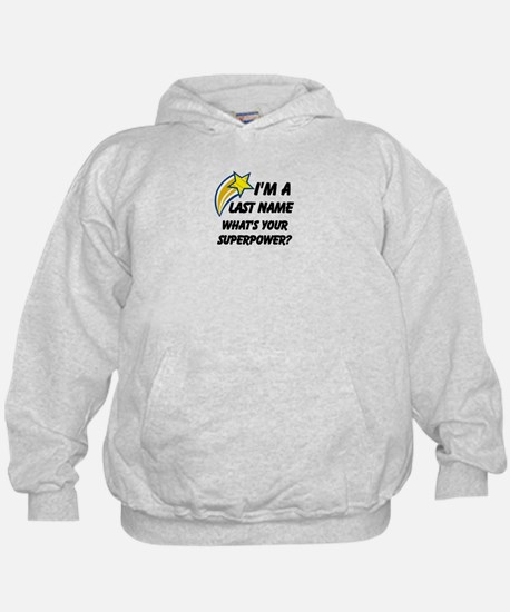 Personalized Last Name Hoody
