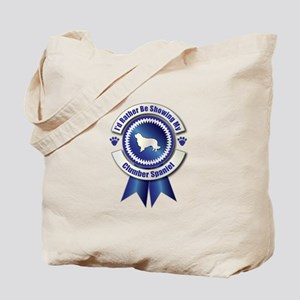 Showing Clumber Tote Bag