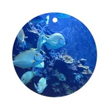Maui Aquarium Ornament (Round)