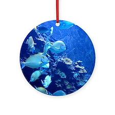 Maui Aquarium Ornament (Round)