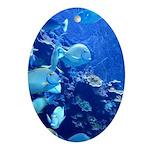 Maui Aquarium Ornament (Oval)