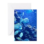 Maui Aquarium Greeting Cards