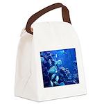 Maui Aquarium Canvas Lunch Bag