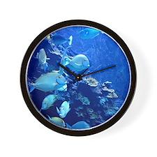 Maui Aquarium Wall Clock