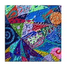 patchwork Tile Coaster