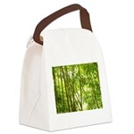 Bamboo Forest Canvas Lunch Bag