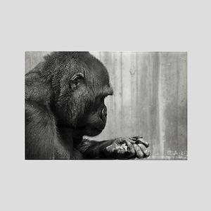 Gorille Rectangle Magnet
