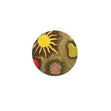 sun tile Mini Button