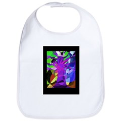 Purple Tree of Life Bib