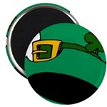 Leprechaun Hat with Shamrock Magnets