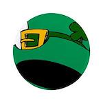 Leprechaun Hat with Shamrock 3.5