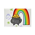Rainbow with Crock of Gold Magnets