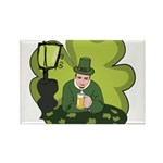 St Patricks Day Man with Beer Magnets