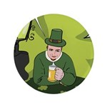 St Patricks Day Man with Beer 3.5