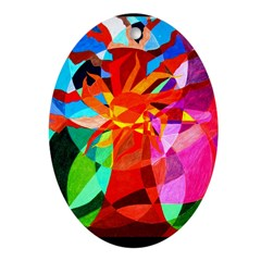 tree of life bright Ornament (Oval)