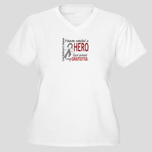 Parkinsons Heaven Women's Plus Size V-Neck T-Shirt