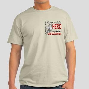 Parkinsons HeavenNeededHero1 Light T-Shirt