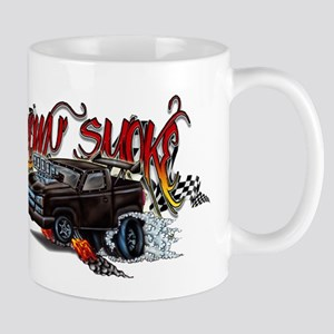 Blown Smoke Cartoon Mugs