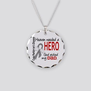 Parkinsons HeavenNeededHero1 Necklace Circle Charm