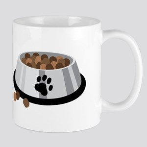 Puppy Dog Food Bowl Mugs