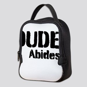 Dude Abides Neoprene Lunch Bag
