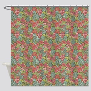 Paisley Cyngalese Shower Curtain